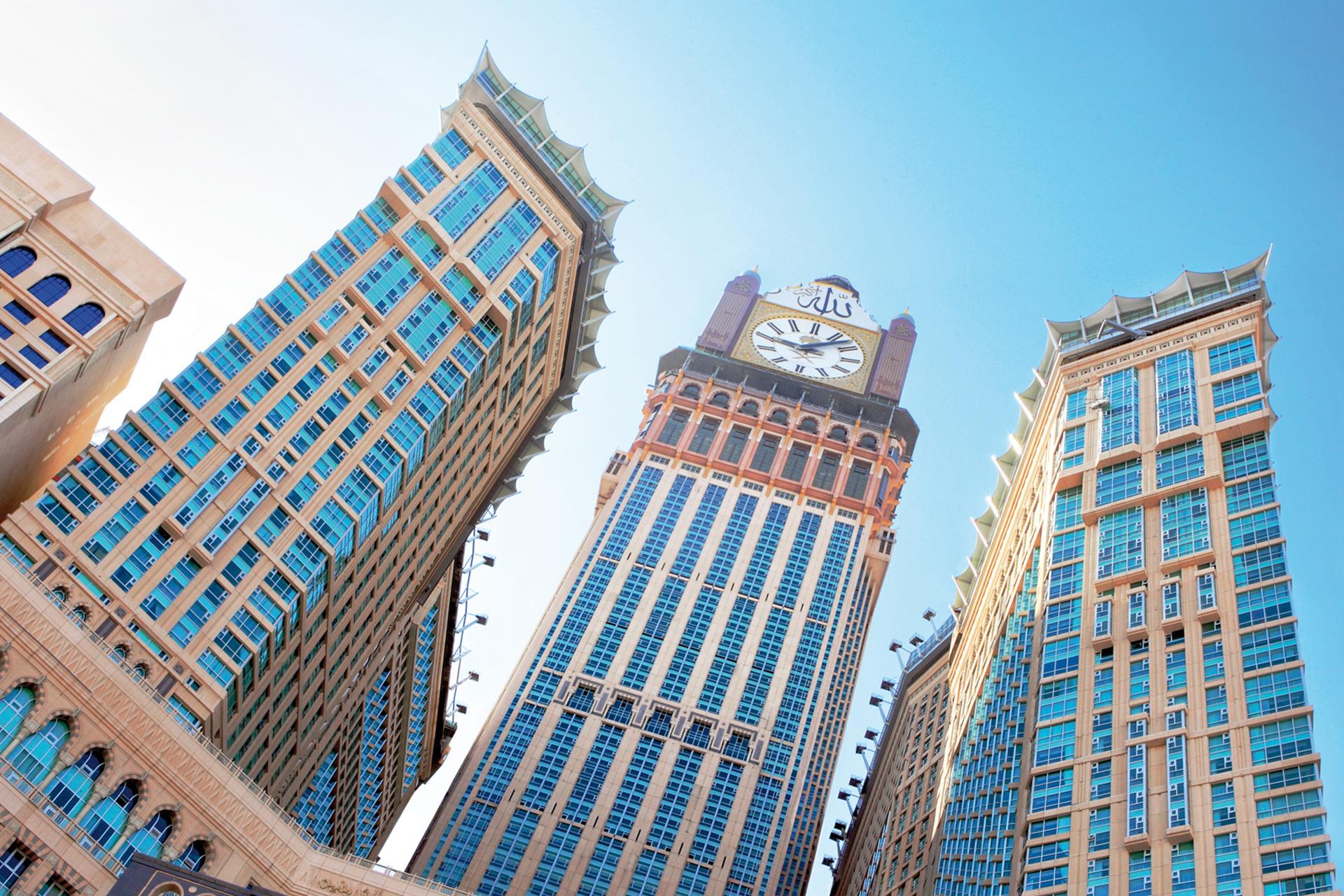 Makkah Royal Clock Tower Makka Saudi Arabia Gutmann
